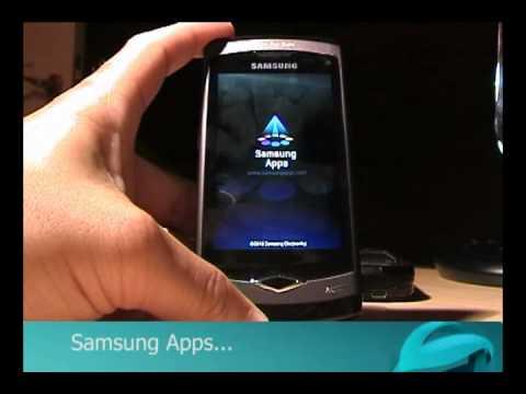Teste Samsung Wave s8500 - Internet e Samsung Apps