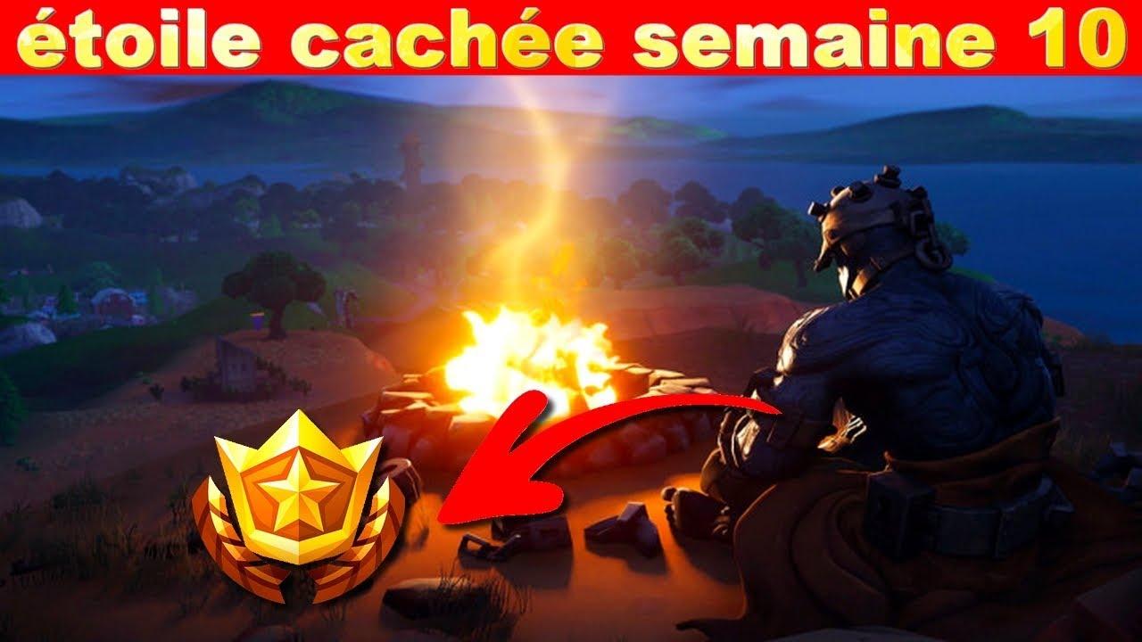 étoile Cachée Semaine 10 Saison 7 Sur Fortnite Battle Royale