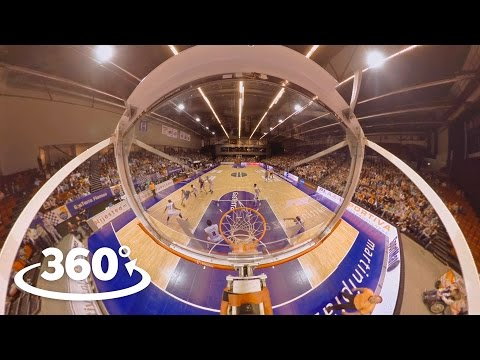 World's first interactive VR / 360º Basketball experience