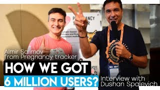 PREGNANCY TRACKER - ALMIR SALIMOV INTERVIEW WITH DUSHAN SPALEVICH