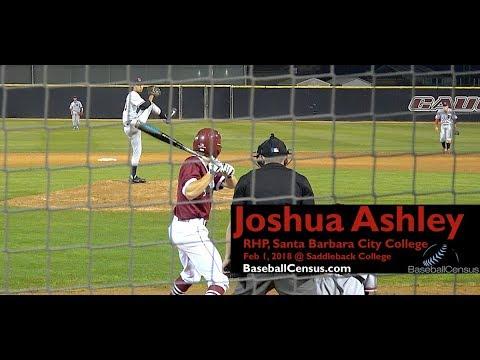 Joshua Ashley, LHP, Santa Barbara City College