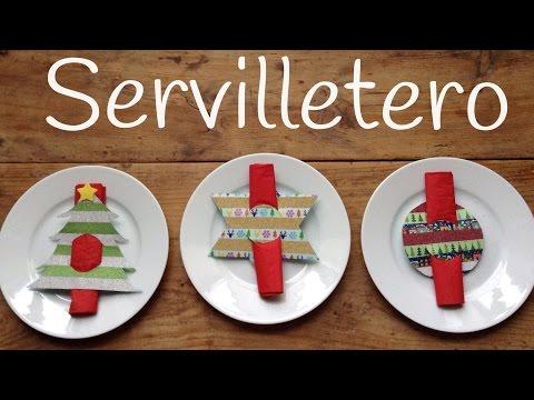 Te enseñamos cómo crear divertidos servilleteros para Navidad