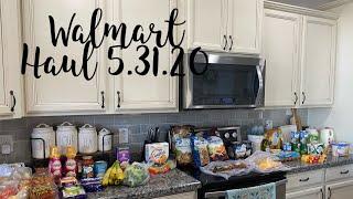 Walmart Grocery Haul 5/31