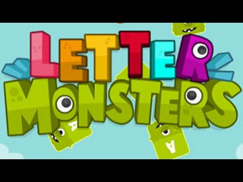 Letter Monsters Level1-9 Walkthrough