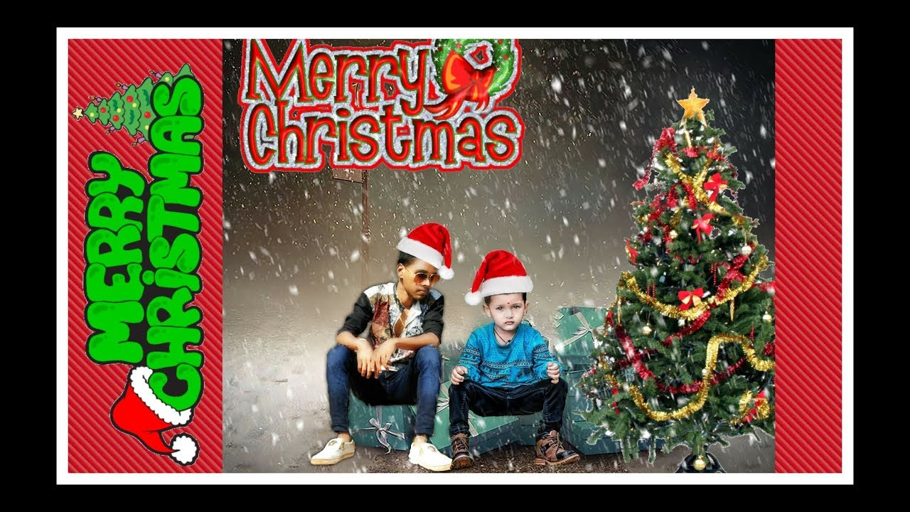 merry christmas day special photo editing 2018 edit bynikhil editors picsart editing