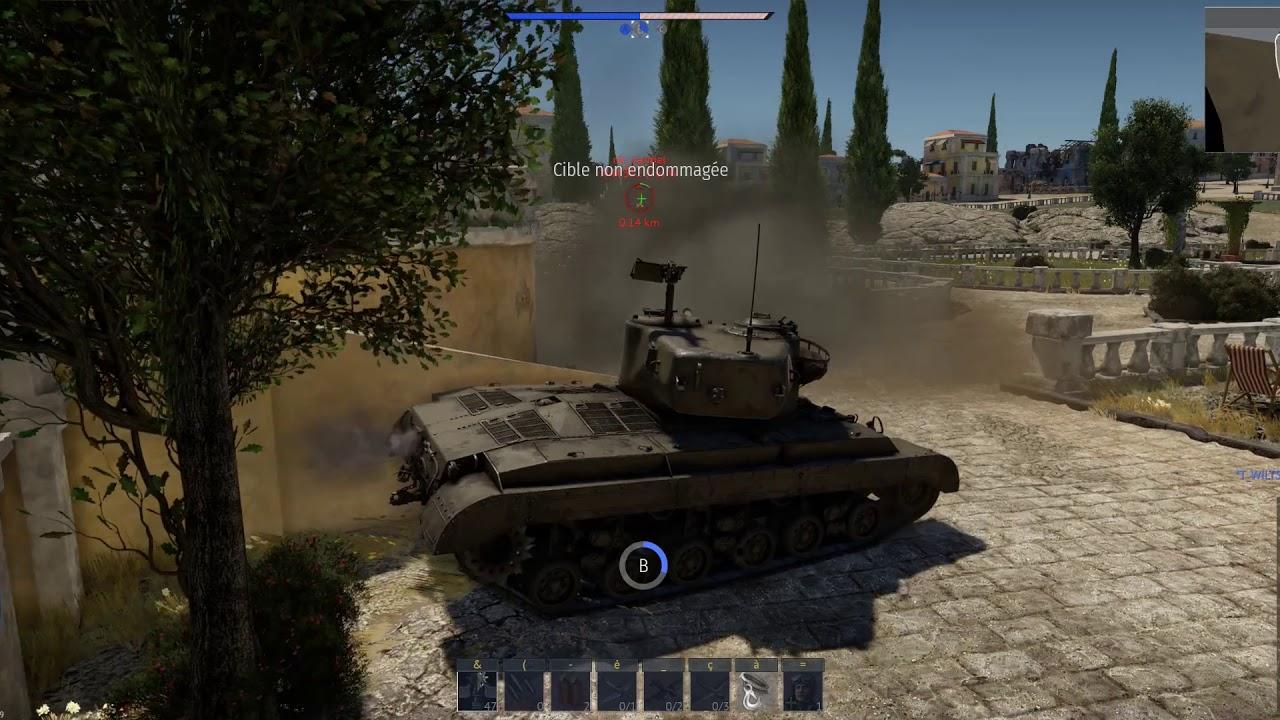 War Thunder ( Démo Tank Arcade ) - YouTube