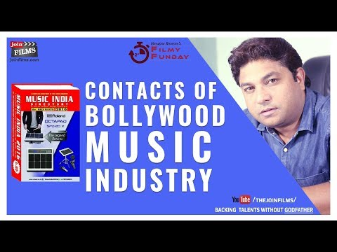Contacts of Bollywood Music Industry ~ बॉलीवुड म्यूजिक इंडस्ट्री | Filmy Funday #63 | Joinfilms