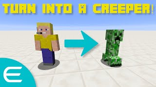 How to turn into any mob you want! minecraft command blocks.