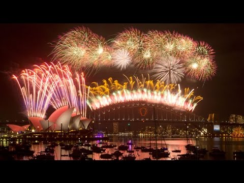 Watch Sydney New Year fireworks in full