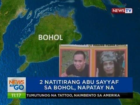 NTG: 2 natitirang Abu Sayyaf sa Bohol, napatay na