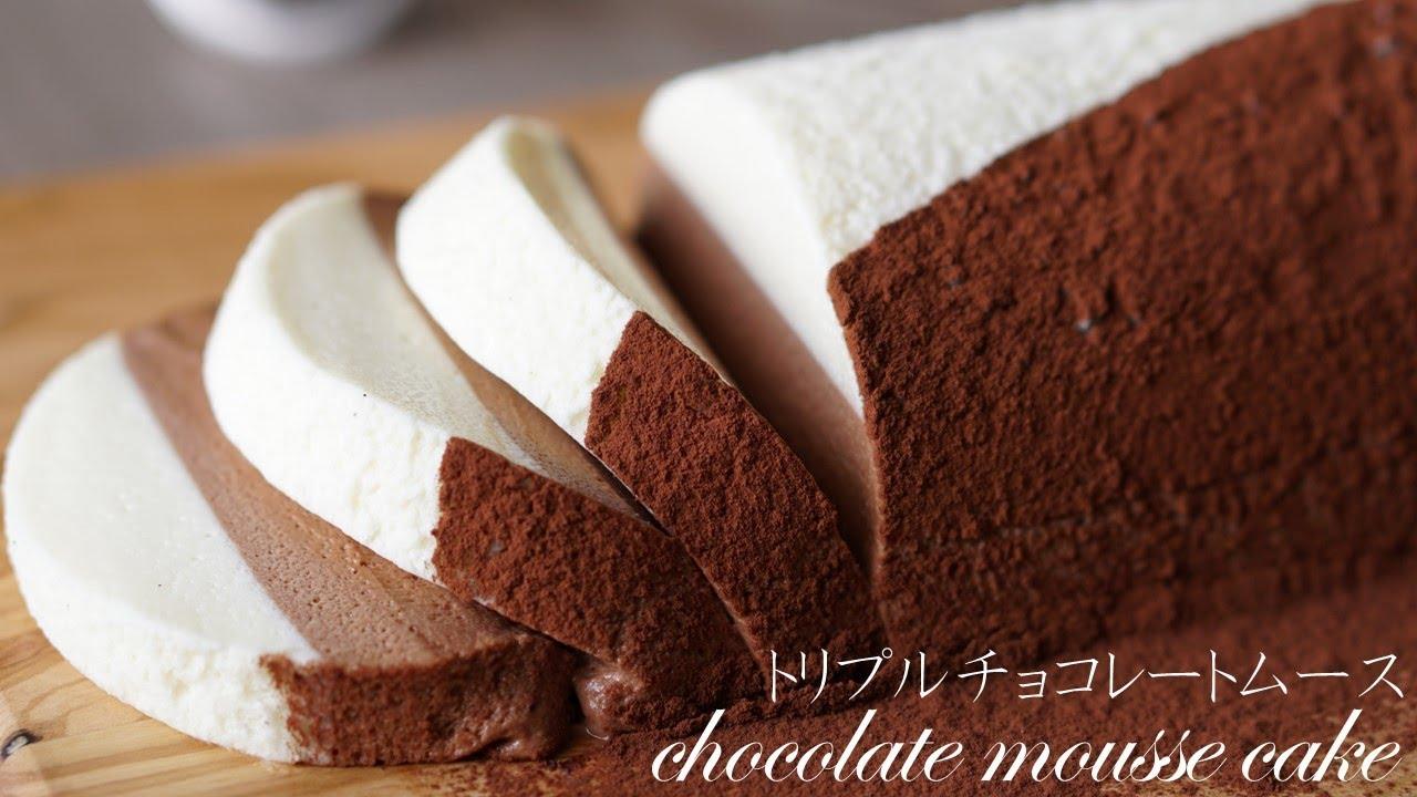 ムース ケーキ チョコレート