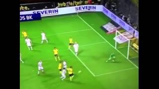 19 year old goalkeeper three brilliant save - Borussia Dotrmund VS Odd Grenland