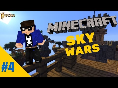 Minecraft SkyWars #4: Fly Hackers | NinjaVG
