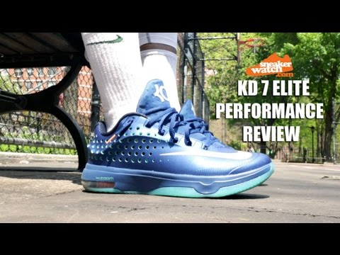 638fab21c7e72d SneakerWatch Performance Review  Nike KD 7 Elite  Elevate  - YouTube