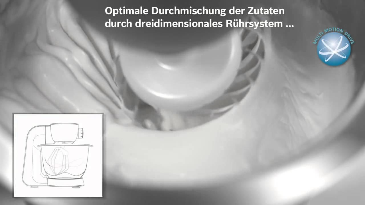 Berühmt Bosch Mum56s40 Küchenmaschine Styline Mum5 Zeitgenössisch ...
