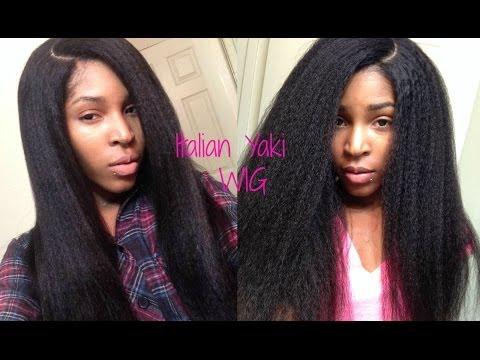 Italian Yaki Silk Top Lace wig (classiclacewigs.com)