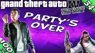 GTA IV TBoGT [:Rocco #1:] PARTY'S OVER [100% Walkthrough]