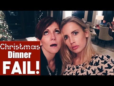 Christmas Dinner FAIL!!! | Christmas with the Robesons 2015