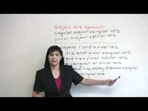 Singular or Plural? Subject-Verb Agreement in English Grammar