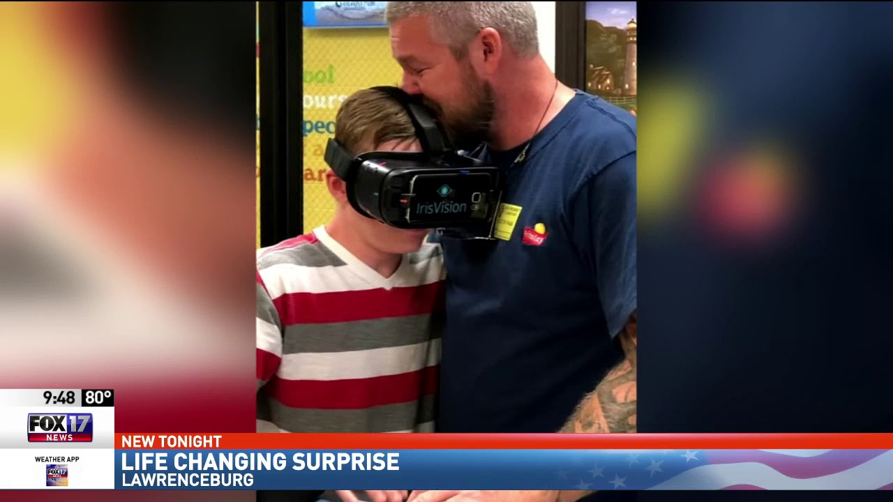 [FOX 17 News] Visually impaired Lawrence County Student Sees Again with  IrisVision
