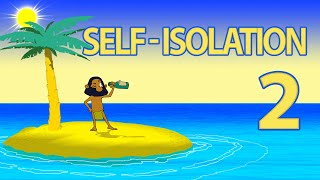 TRUTH ISLAND 2 animated short. How to communicate on a deserted island. Robinson Crusoe lifestyle.