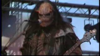 lordi - Blood red sandman - live in Helsinki (marquet square massacre)
