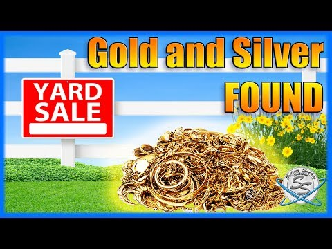 How to find Gold and Silver at Yard Sales!