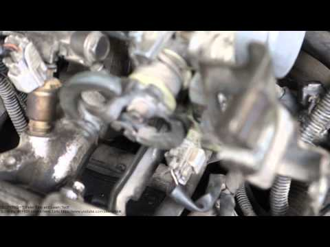 How to adjust idle speed Toyota Corolla  Years 1992 to 2002