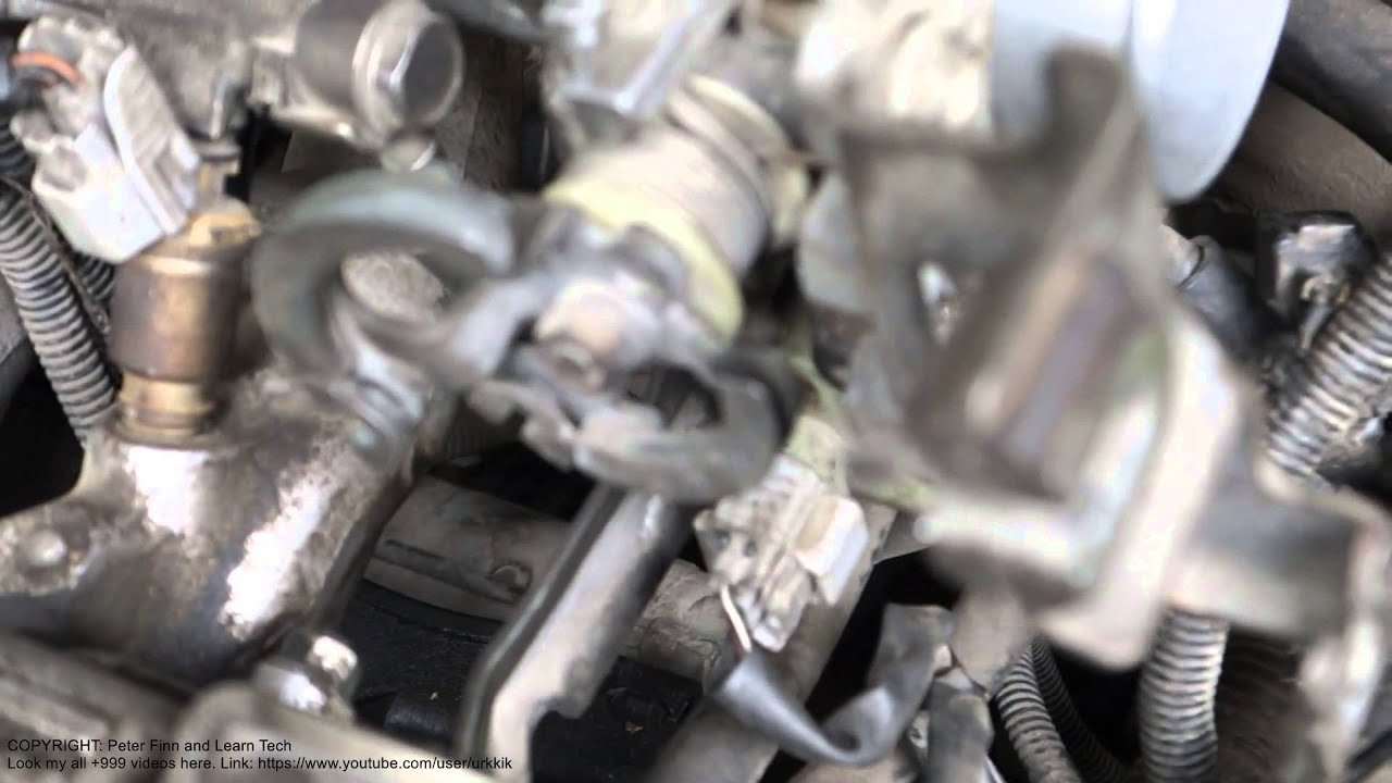 how to adjust idle speed toyota corolla  years 1992 to