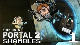 Portal 2 Ep 1 - Sweet Disk Action