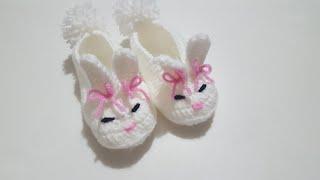 Bebekler için Tavşan Patik Yapımı