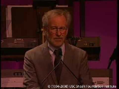 Steven Spielberg Speech at 2008 Ambassadors for Humanity Event