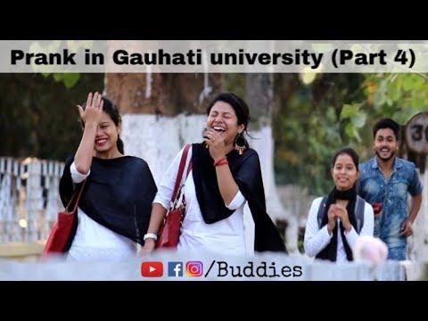 Prank in Gauhati University (Part 4) Assamese prank in Assam || Buddies Assam