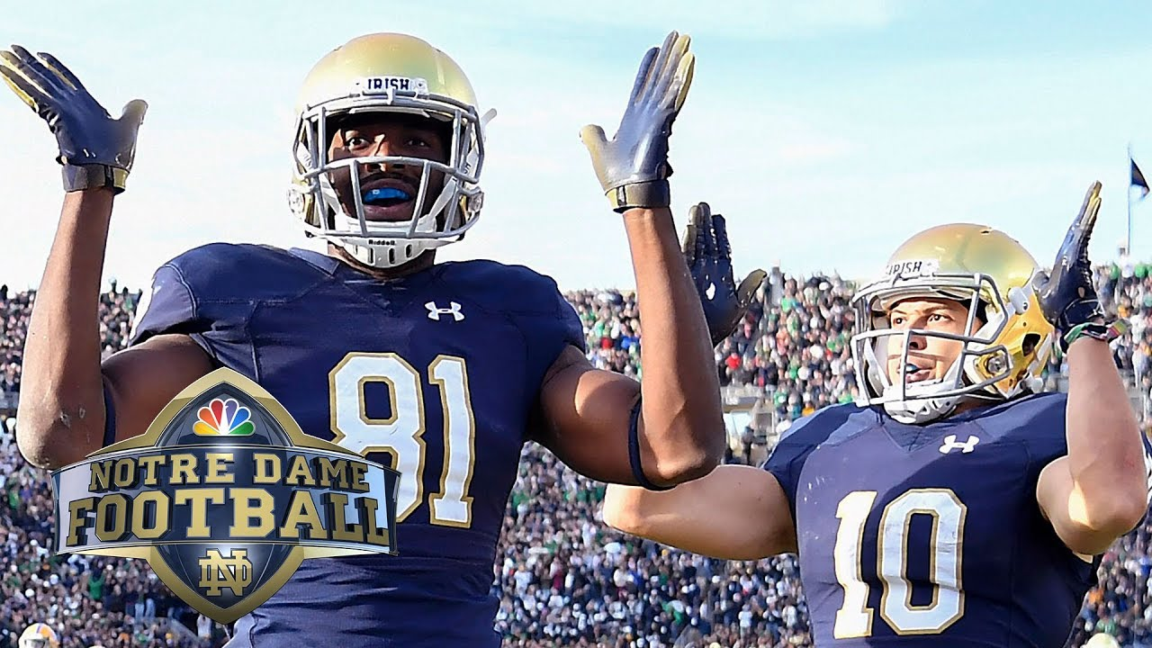 Top Notre Dame Football Home Game Moments Of 2018 Nbc
