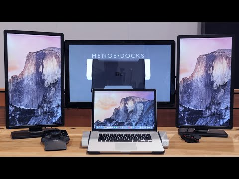 Best MacBook Dock Ever?!? (Henge Docks Horizontal Dock)