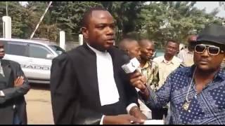 Tony MUAMBA avocat de koffi olomide s'exprime