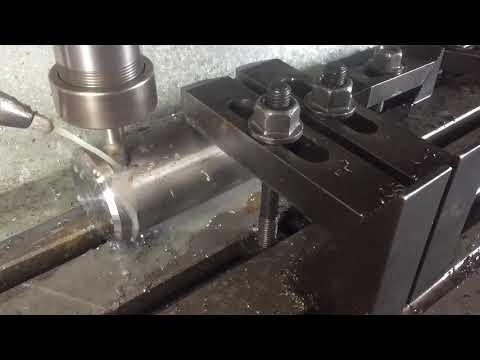 DIY CNC - Milling slots in 4140 steel