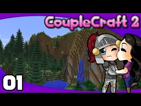 CoupleCraft 2 - Ep. 1: We're Back! | Minecraft 1.10.2 Modded Survival