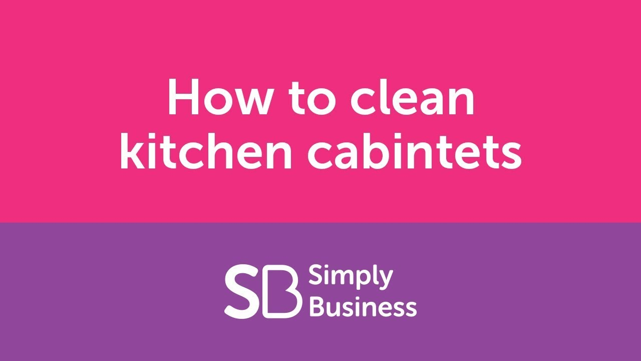 How to clean kitchen cabinets landlord kitchen cleaning for How to clean your kitchen