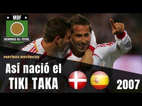 EL DÍA QUE NACIÓ LA ESPAÑA DEL TIKI TAKA (2007) ⚽