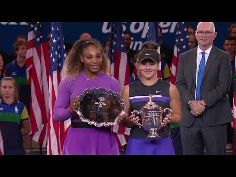 US Open 2019 Women's Singles Trophy Presentation
