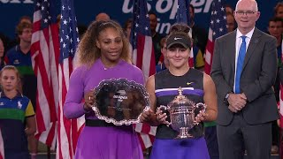 US Open 2019 Women's Final Ceremony
