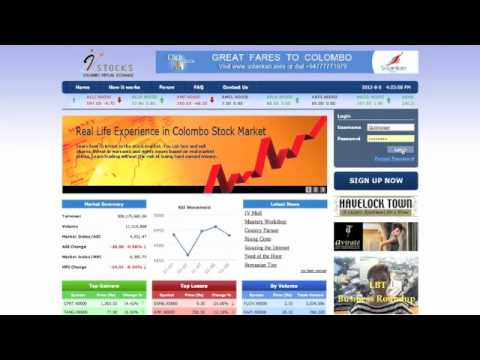 Colombo Virtual Stock Exchange (VstoX)