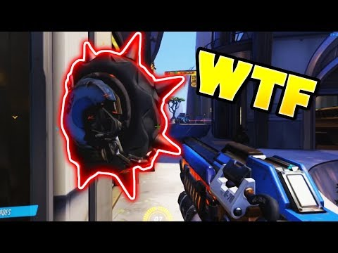 How Did This Ult Not See Him?!? - Overwatch Luckiest Moments