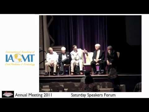 2011 Las Vegas Saturday IAOMT Speakers Forum