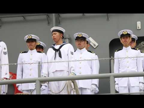 [20160520]海上自衛隊練習艦隊x02「出国行事@横須賀 後半~JAPAN TRAINING SQUADRON~」