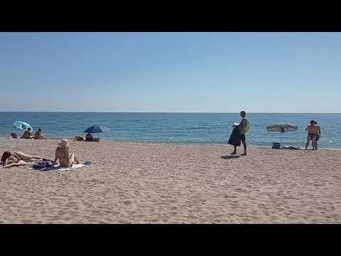 СУПЕР Пляж на Верховой (Бердянск) Чистая вода! Открытое море!