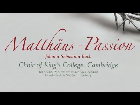 J.S. Bach: Matthäus Passion