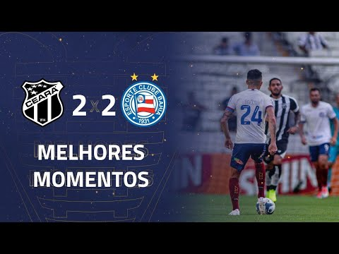 Ceará 2 x 2 Bahia   Gols e Melhores Momentos   4ª rodada   Copa do Nordeste 2020