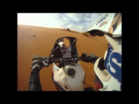 Erg Chebbi and Africa Twin